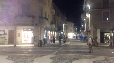 Rimini bei Nacht