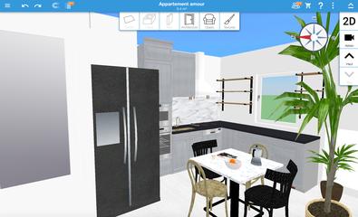 decoration cuisine 3D