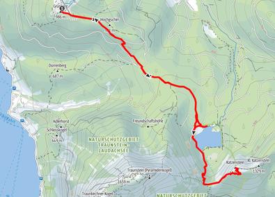 Wanderung Grünberg, Katzenstein, Laudachsee