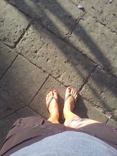 Finally I can wear flipflops again :-)