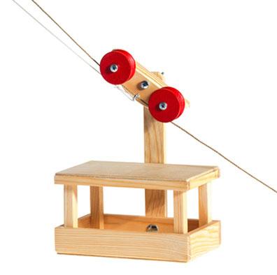 BAJO natürliches Holzspielzeug Schiebetier Hase - zuckerfrei | Kids Concept Store