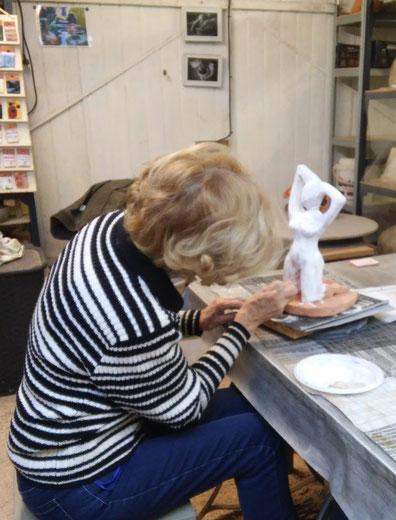 cours poterie modelage sculpture Hyères, Var