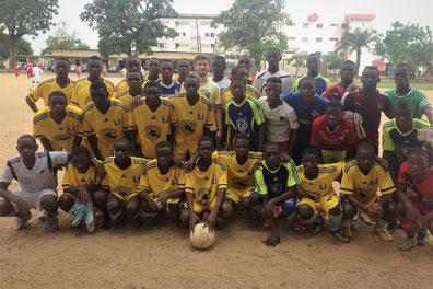 Scouting in Douala (Kamerun) 2017