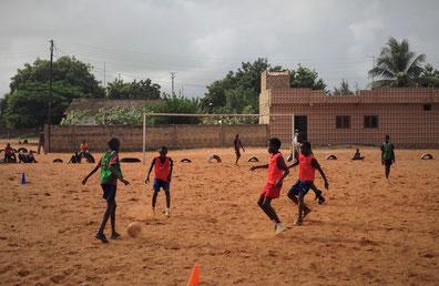 Scouting in Mbour (Senegal) 2016