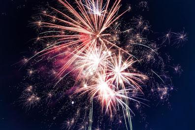 Internationaler Feuerwerkswettbewerb in Herrenhausen Hannover