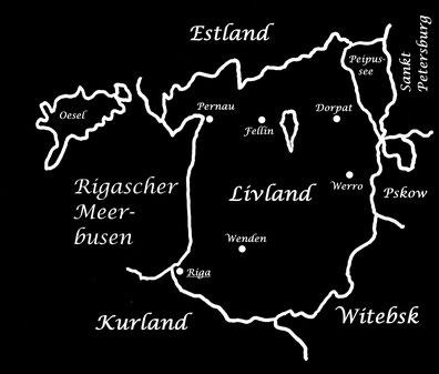 Livland, Witebsk, Pskow, Sankt Petersburg, Lettland, Estland, Baltikum, Gouvernement, Lost Places, Unlost Places