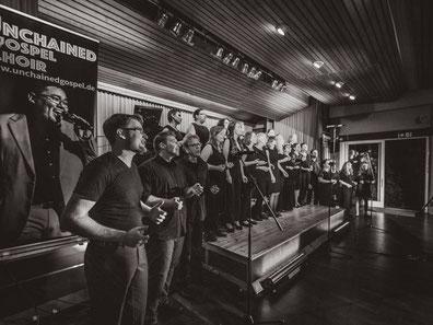 Der UGC beim Auftaktkonzert am 21.09.2018 (s/w)