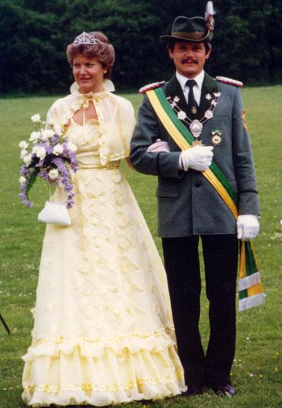 40-jähriges Jubelkönigspaar: Helmut und Elisabeth Jung
