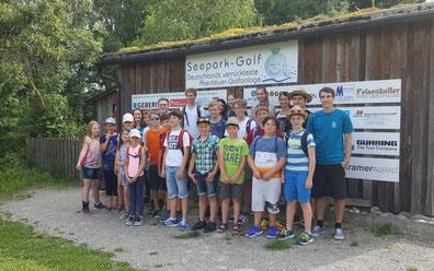 Jungmusikantenausflug 2018 zum Abenteuergolf nach Pfullendorf