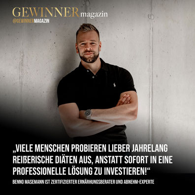 Interview GewinnerMagazin mit Benno Masemann
