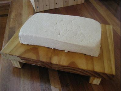 Tofu in seiner reinsten Form
