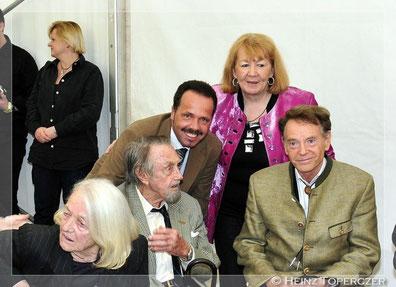 Lotte & Hans, Prof.Lötsch, Edith Altrichter und meine Wenigkeit