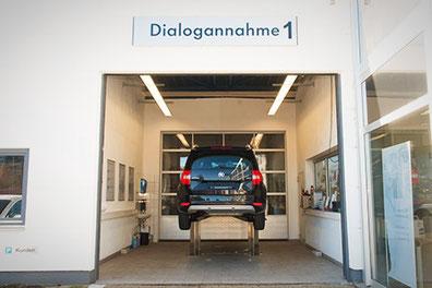 Dialogannahme der Automarken Kia, Seat, Skoda, VW in Beilstein