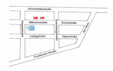 Wilhelmstraße 20, 35037 Marburg (hinter Kaufhaus Ahrens)