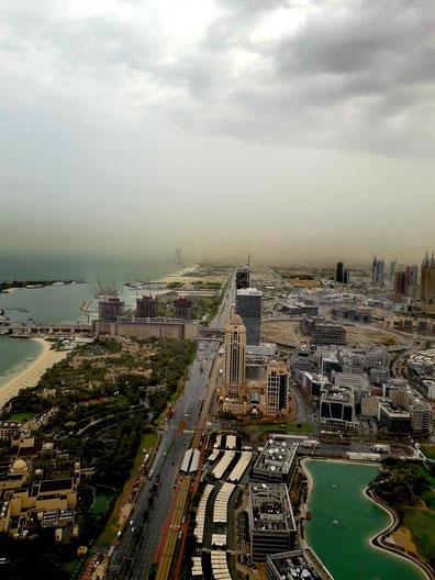 Ein Regentag in Dubai