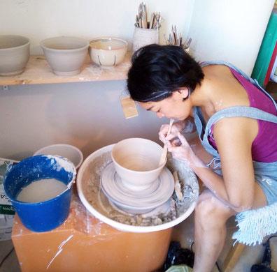 Ceramica Japonesa mari orikasa