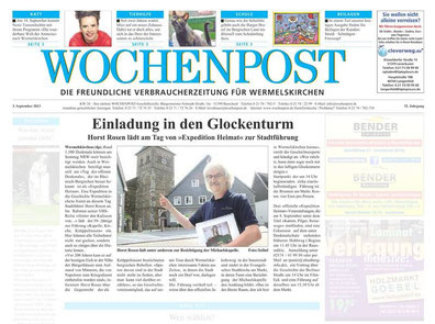 Wochenpost September 2013