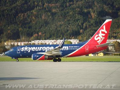 Sky Europe 2001 - 2009