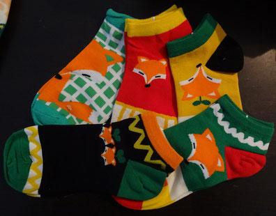 1 von 5 Fuchs-Socken-Paaren