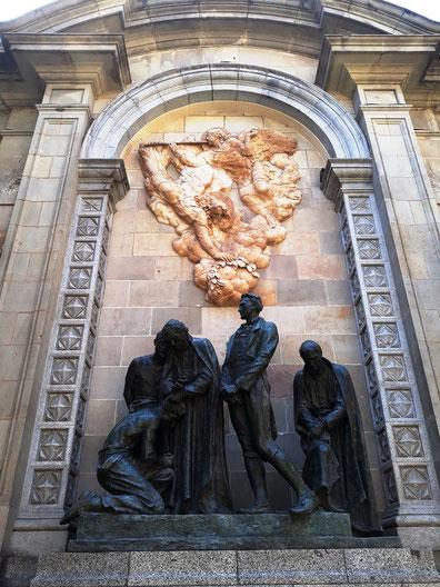 Монумент героям 1809. Памятникеи и скульптуры Барселоны