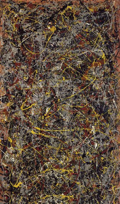 Самые известные картины в мире - Джексон Поллок