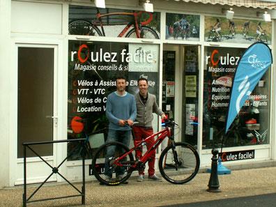Le partenariat entre l'espace VTT Ouest Creuse et Roulez Facile, spécialiste des vélos à assistance électrique