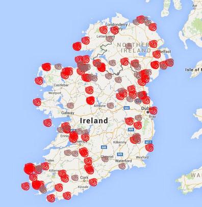 Prähistorische Steinbauten in Irland