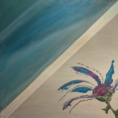 FLOWER 50 x 50 Acryl
