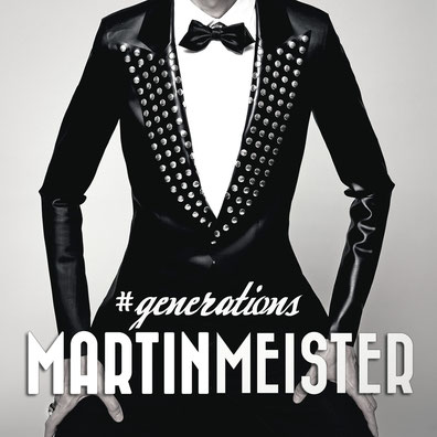 Martin Meister - Generations - music album artwork