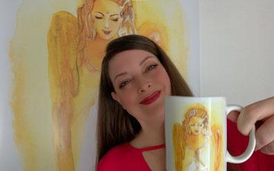 AGNYA HEALING ART Lichtkraft-Engel-Tasse