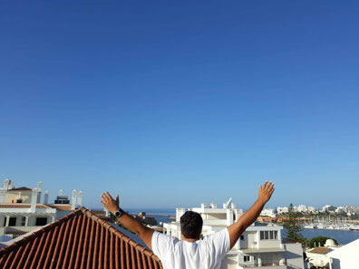 Aussicht Algarve, Hotelanlage, Jesus lopez