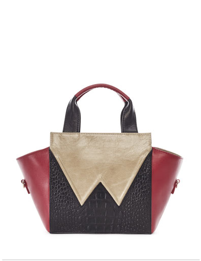 OWA Germany  _  CUBE TOTE . SMALL _ Finest Couture Craft _ Handcrafted in Germany  I owa-bags.com I