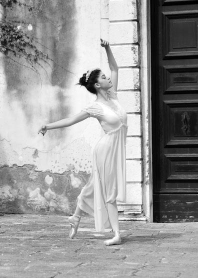 Ballett Tänzerin - Kunstdruck A4