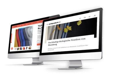 TUTAKA & Archiproducts präsentieren die feischee-cotton fr Kollektion.