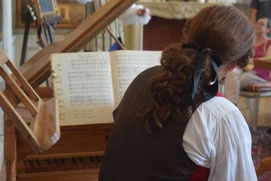 Theater Mozart klassischer Pianist