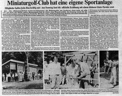 Artikel aus den Cuxhavener Nachrichten vom 19.06.1989