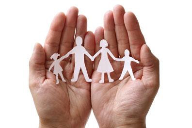 La famille entre nos mains