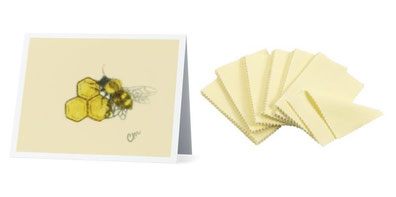 Add-on a card and polishing cloth for a complete gift! Click here to browse.