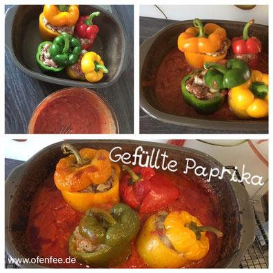 Gefüllte Paprika aus dem Ofenmeister von Pampered Chef