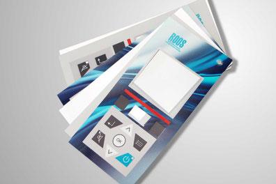 Frontfolien im Siebdruck und Digitaldruck mit Einsatz von unterschiedlichsten Weiterverarbeitungs- und Verformungstechniken