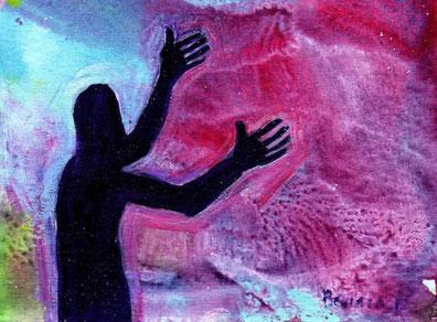Bernadette Lopez, from http://www.evangile-et-peinture.org/