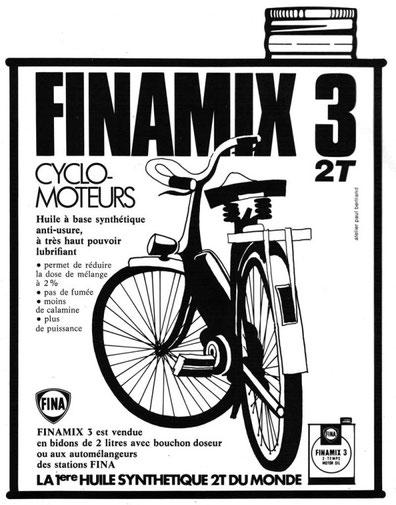 Publicidad francesa de aceite Finamix 3