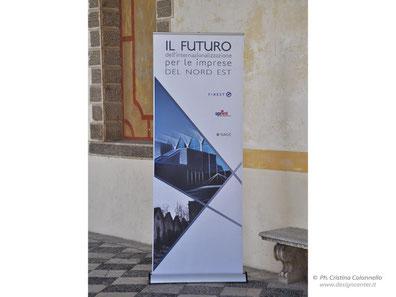 Banner roll-up  convegno - personalizzato