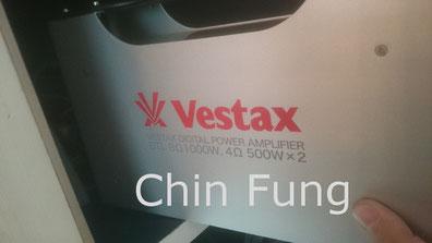 Vestax amplifier 音響