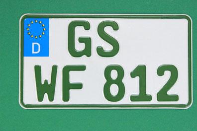 Traktor Kennzeichen