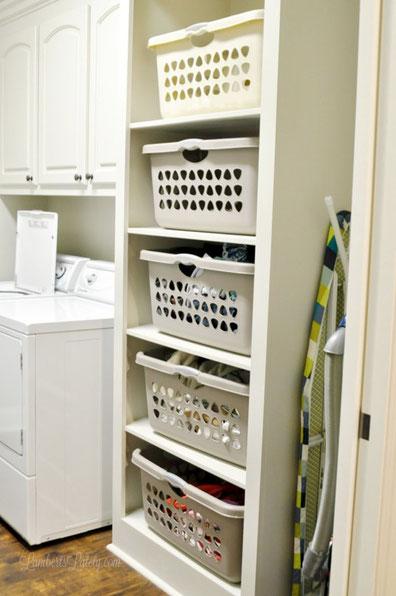 Laundry System Wäsche Körbe Wäschekörbe