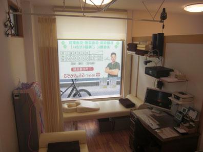 茅ヶ崎 よつばの整骨院 施術室