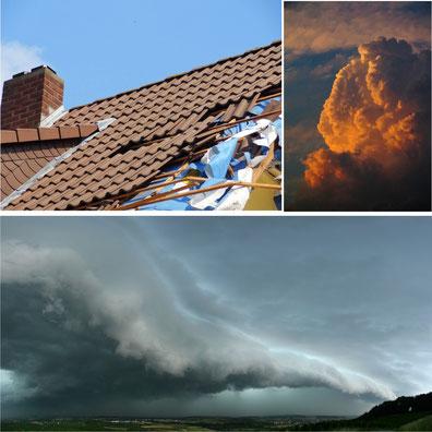 Sturmschaden beheben Dachdecker Coesfeld Münsterland