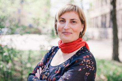 Anja Taschner, Mediatorin und Insolvenzverwalterin. Sie lebt und arbeitet in Halle (Saale)