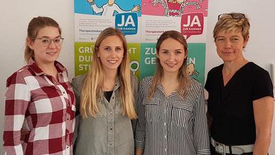 Logopädie Studentinnen der Hogeschool Arnhem /Nijmegen (NL) zu Besuch in Lippstadt beim Förderverein TKNRW e.V.